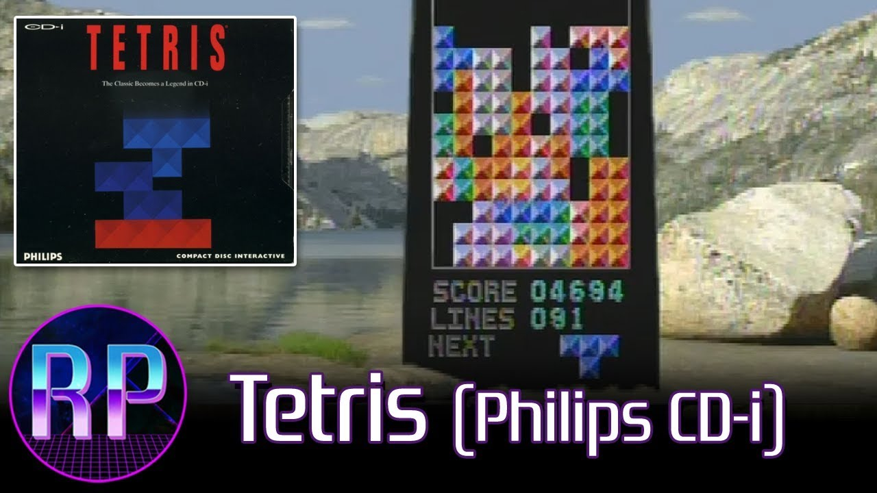 Tetris (Philips CD-i) - New Age Meets Vaporwave