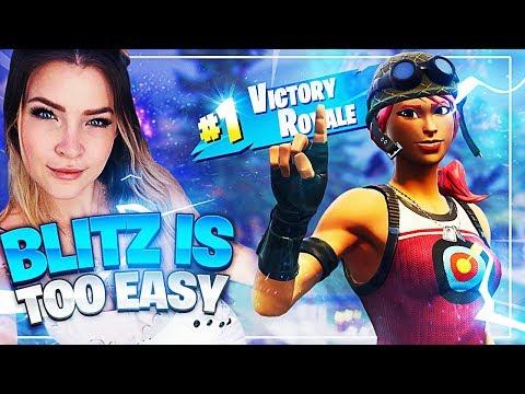 Blitz is too easy... ft Svenoss (Fortnite: Battle Royale)   KittyPlays