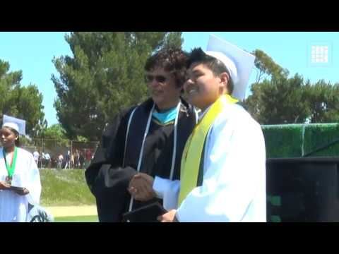 Student with autism graduates as valedictorian