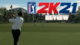 PGA Tour 2K21 (Switch) Review (Video Game Video Review)