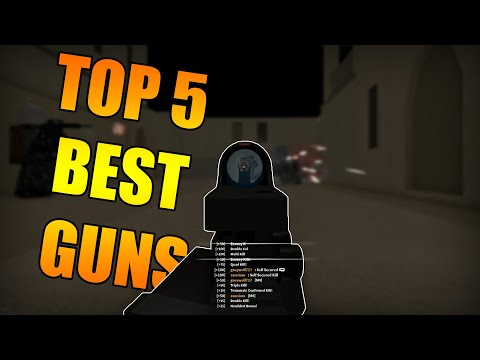 THE TOP 5 BEST GUNS IN PHANTOM FORCES - YouTube