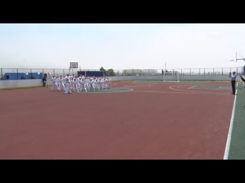 В Зарубино открыли многофункциональную площадку и стадион