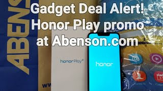 Gadget Deal Alert! Get your Honor Play at Abenson.com for only Php14,999 instead of Php15,990!