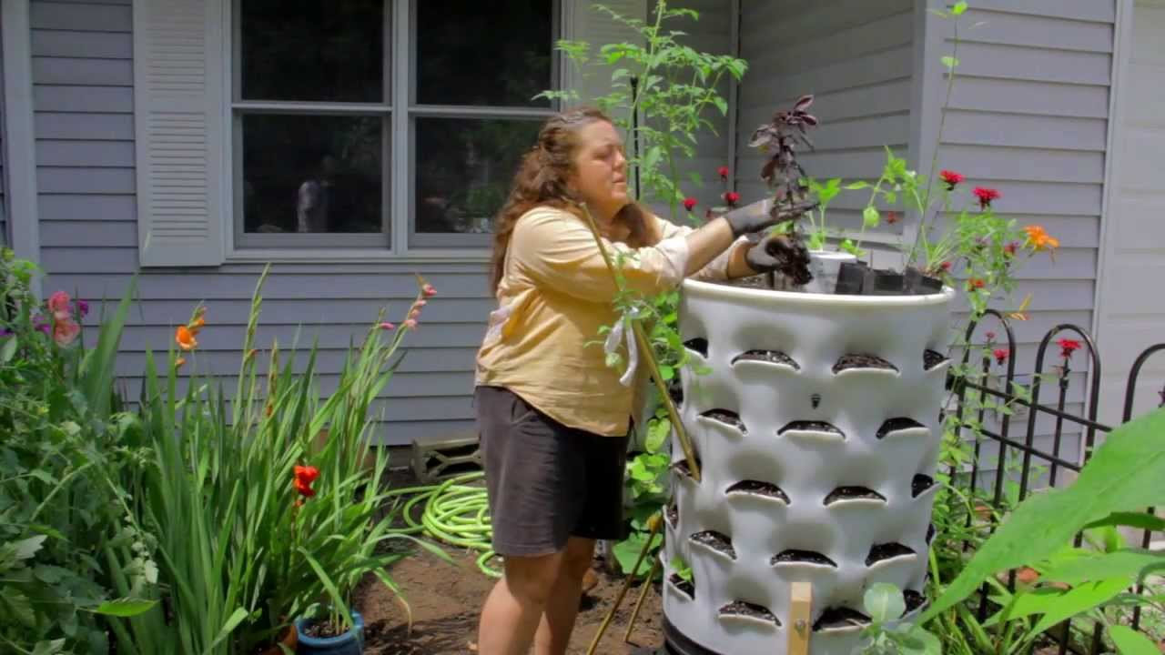 Kristi on Summer Vegetable Planting with your Garden Tower YouTube