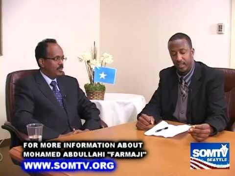 "SomTV Interview with Former Prime Minister of Somalia Mohamed Abdullahi ""Farmajo"""