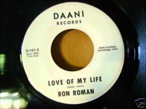 Ron Roman And Group - Tell Me / Love Of My Life - Daani 101 - 1963