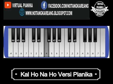 Kal Ho Na Ho Versi Pianika    Belajar Pianika