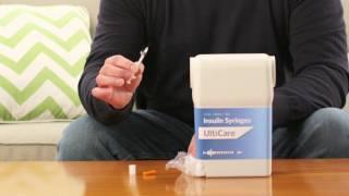 UltiCare Insulin Syringes with UltiGuard Safe Pack