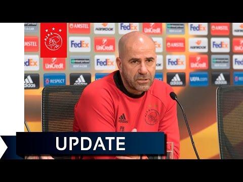 Peter Bosz: 'Ajax fit en fris op weg naar de finale'