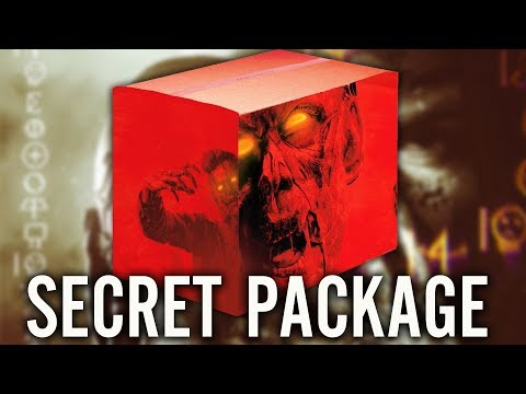 TREYARCH SENT ME A SECRET ZOMBIES PACKAGE...