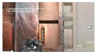 TRUMPF Laserschweißen: Spritzerfreies Schweißen von Kupfer –Kontaktierung bei Leistungselektronik