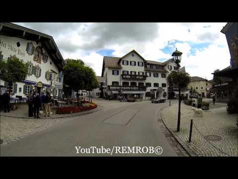 Driving Through Oberammergau, Germany