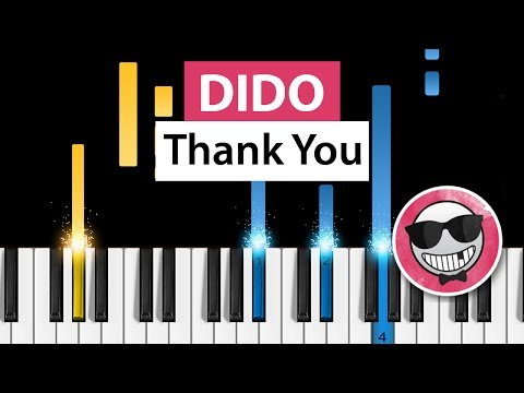 Dido - Thank You - Piano Tutorial - How To Play