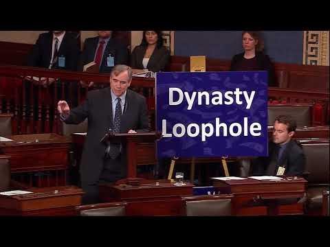 Senators Merkley and Klobuchar Highlight Worst Provisions of GOP Tax Scam