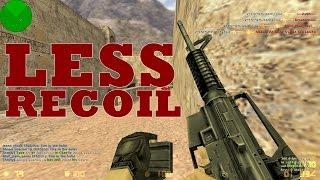 Repeat youtube video Counter Strike 1.6 M4a1 Less Recoil Trick   Script