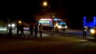 fort simpson santa claus parade 2011