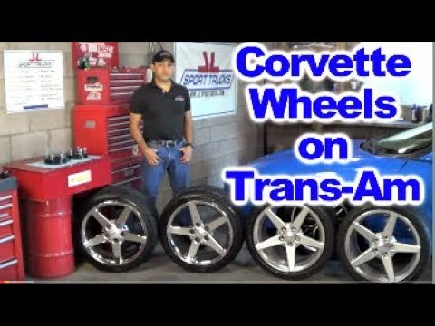 Installing C6 Corvette Wheels and Tires on 4th Generation Firebird Trans Am