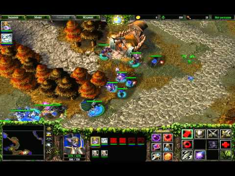 Прохождение Warcraft 3: The Frozen Throne - Осколки Альянса #6