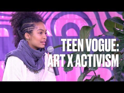 Art x Activism: Urban Outfitters + Teen Vogue