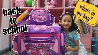 WHAT'S IN MY SCHOOL BAG 2019 | KIDS VLOG | KIDS VLOG PHILIPPINES