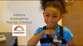 Through the Eyes of a Kindergartner: First Day of School