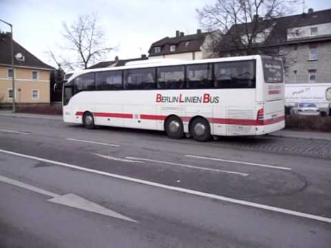 bex 428 berlin linien bus in schwandorf youtube. Black Bedroom Furniture Sets. Home Design Ideas