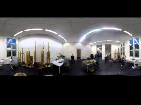 360° view Royal Academy of Art The Hague: Type & Media MA