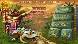 Zuma Deluxe Adventure Сhallenge, 1 life, no lost (part 1)