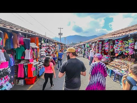 ANTIGUA STREET MARKET! - Guatemala Series | Episode 3