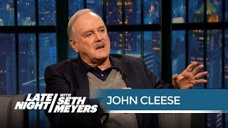 "John Cleese Remembers Monty Python's ""Dead Parrot"" Sketch - Late Night with Seth Meyers"