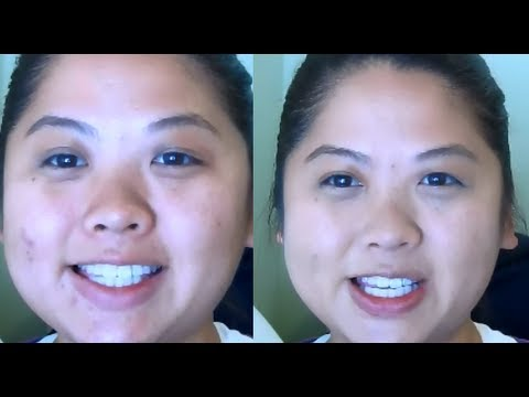 how to use hard candy glamoflauge concealer