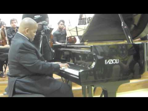 How Great Thou Art- Piano Solo on a Fazioli Grand Piano F-183