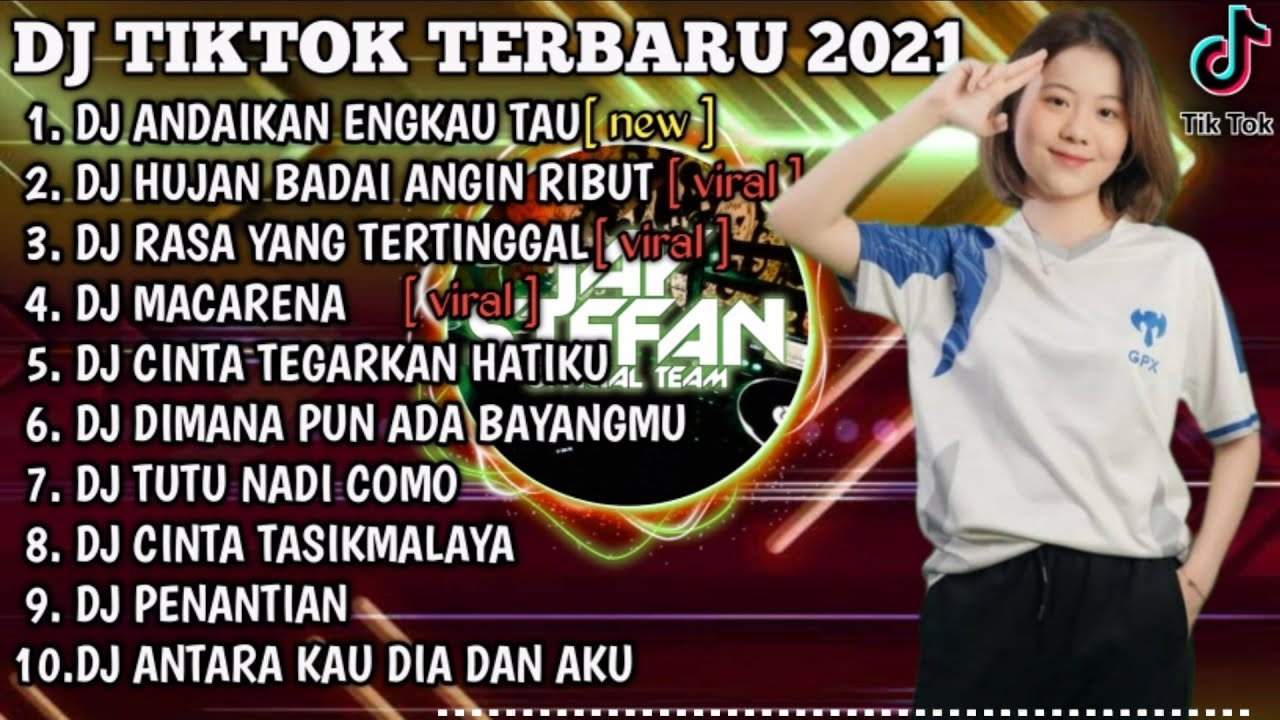 Download DJ ANDAIKAN ENGKAU TAU AKU X DJ HUJAN BADAI ANGIN RIBUT   REMIX VIRAL TIKTOK FULL ALBUM TERBARU 2021