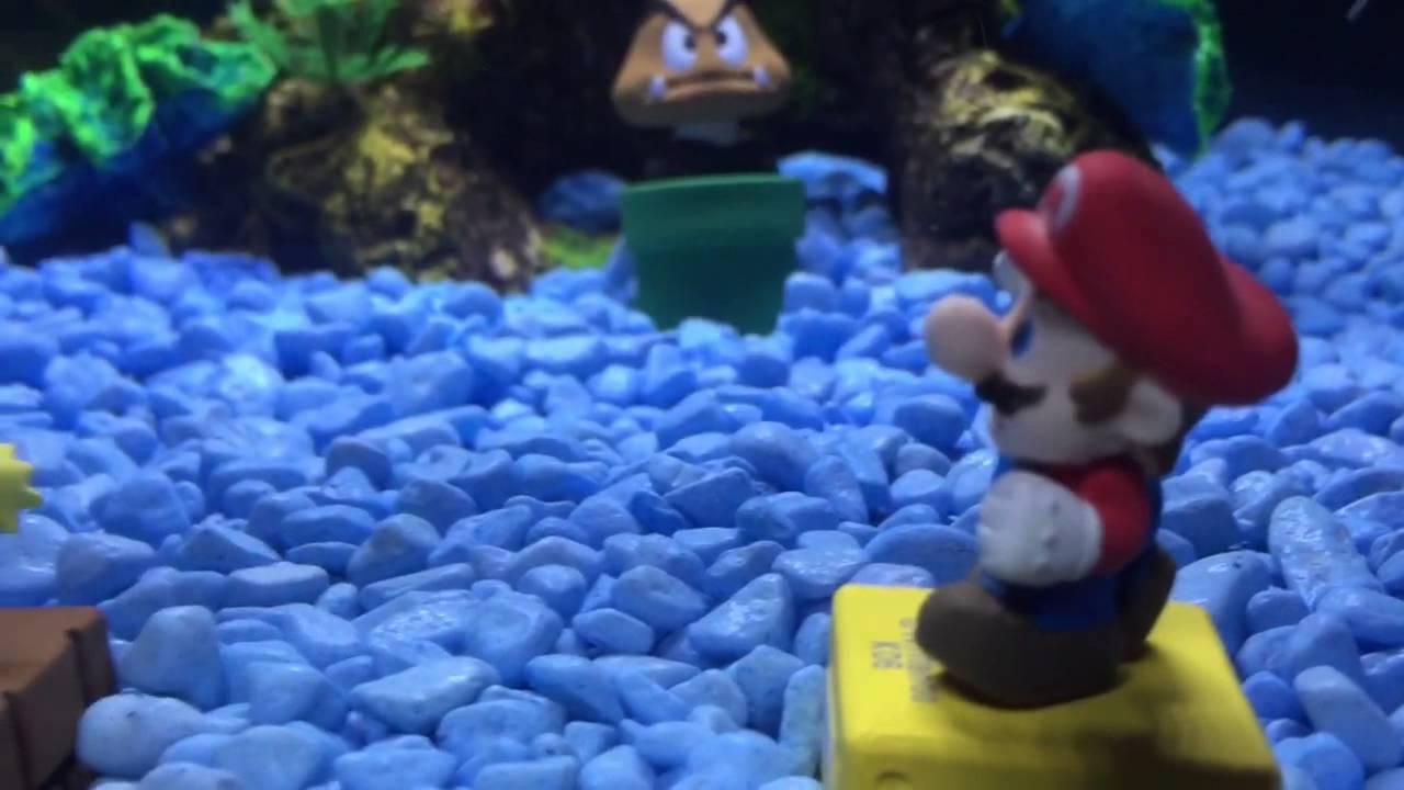 Epic super mario fish tank aquarium youtube for Mario fish tank