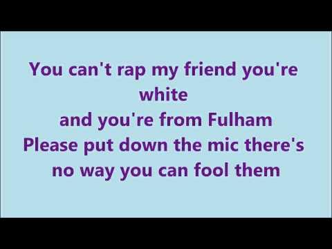 example You Can't Rap Lyrics