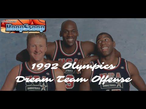 1992 Olympics - USA Dream Team Set Plays
