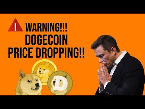⚠️ WARNING!! DOGECOIN DROPPING!!!