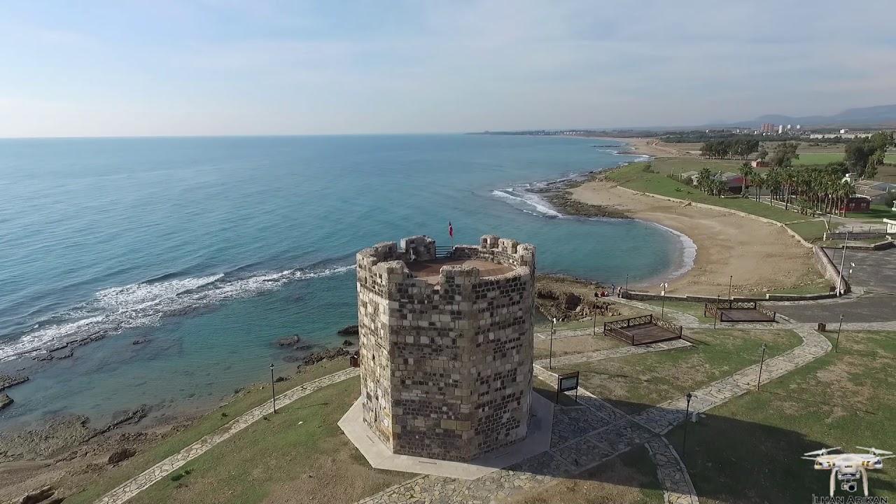 Süleyman Kulesi - Solomon Tower, Ayas, Adana - YouTube