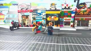 play lego avanger fun kids toys | mainan lego avanger seru sekali
