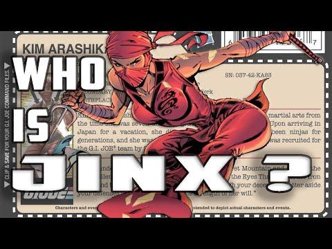 History And Origin Of GI Joe's JINX !