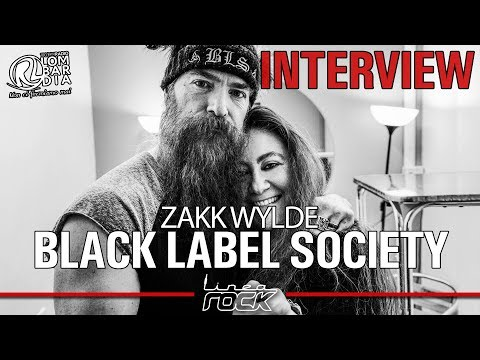 BLACK LABEL SOCIETY - ZAKK WYLDE interview @Linea Rock 2018 by Barbara Caserta