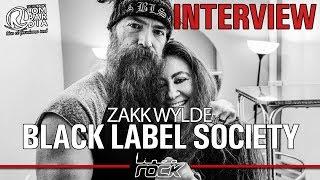 BLACK LABEL SOCIETY - ZAKK WYLDE interview @Linea Rock 2018 by Barbara Caserta