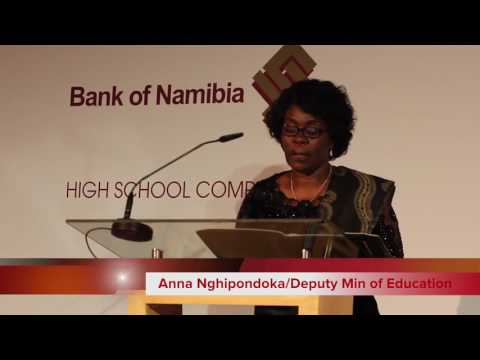 2017 Bank of Namibia National High School Competition Final