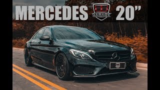 BB Garage | Mercedes C250 | Aro 20""