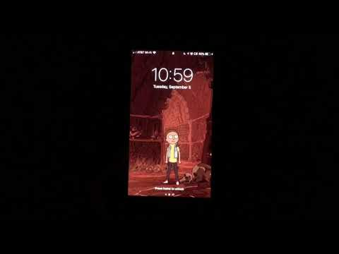 Cool Rick And Morty Live Wallpapers For Iphone Youtube