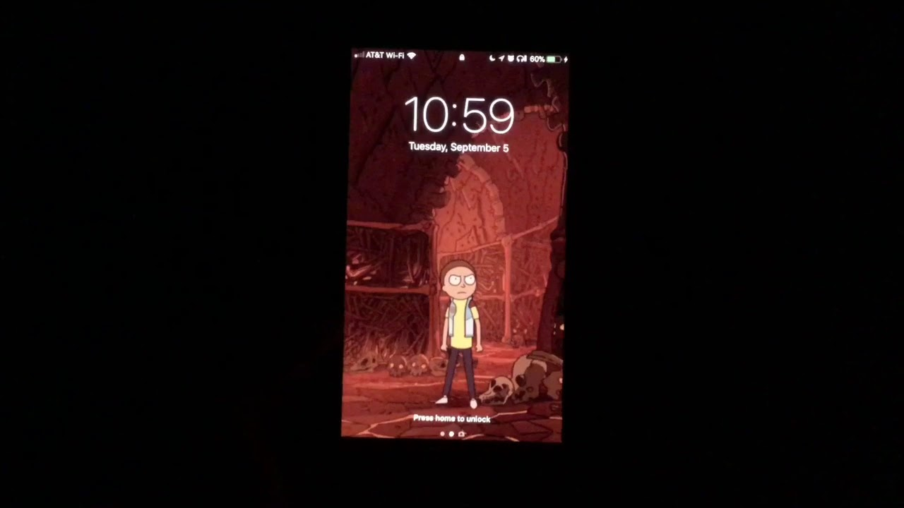Cool Rick and Morty live wallpapers for iPhone