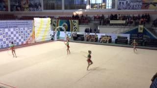 международный турнир по художественной гимнастике «Грация Востока», Усть-Каменогорск 2014.
