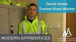 Derek Howie: North Ayrshire Council Modern Apprentice