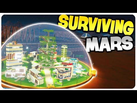 Elon Musk Drones build a Survival Colony in Mars! | Surviving Mars Gameplay