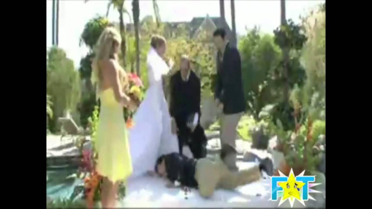 Bride Falls In Pool Best Man Fail
